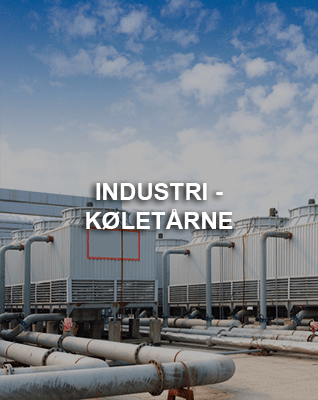 Vandbehandling til industri og køletårne
